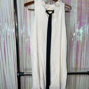 Jella Couture off white dress